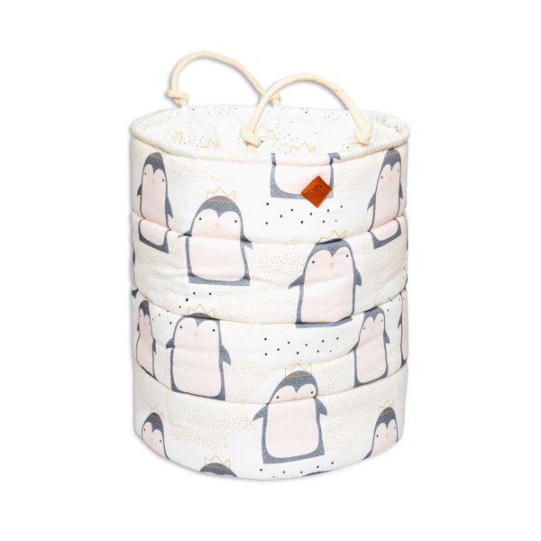 Lovely Penguin Drawstring Bag
