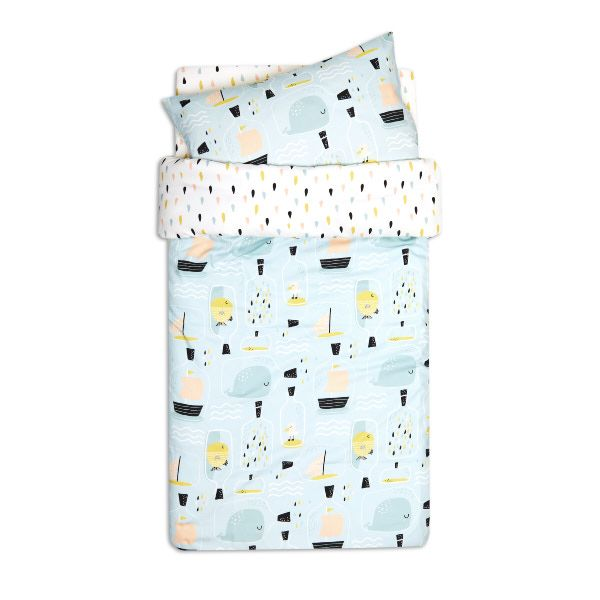 Duvet Set 120x150 - Fish in Jar