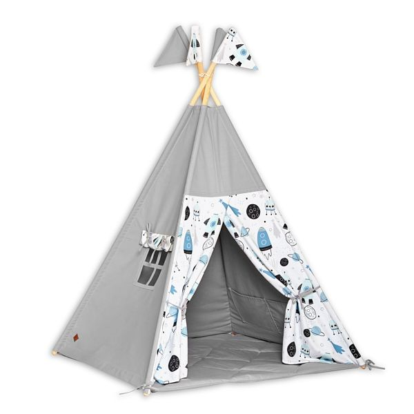 Teepee Tent + Floor Mat - Space
