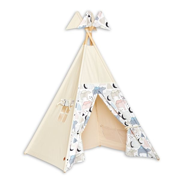 Tente Tipi - Bear Family