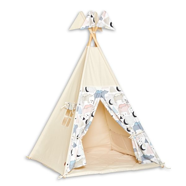 Tenda Tipi + Tappatino - Bear Family