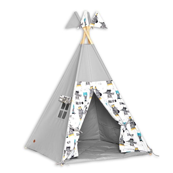 Tente Tipi + Tapis - Super Hero