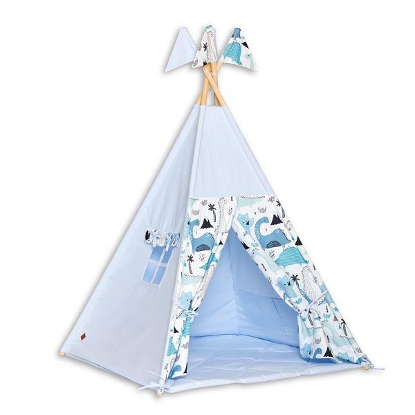 Teepee Tent + Floor Mat - Dino