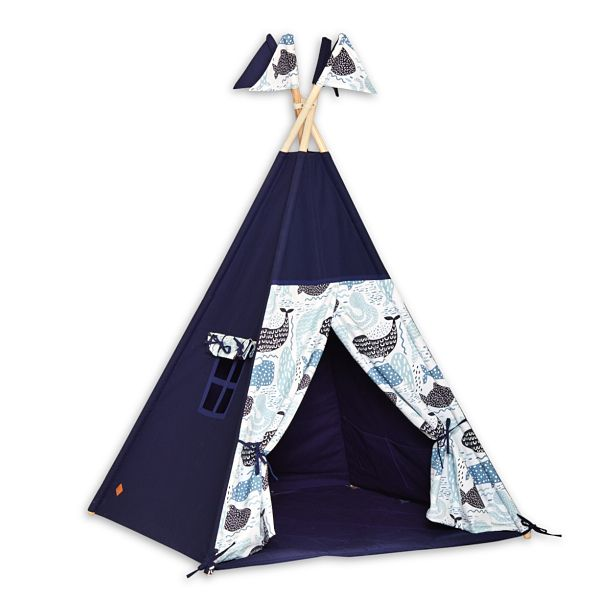 Teepee Tent + Floor Mat - Sea Adventure