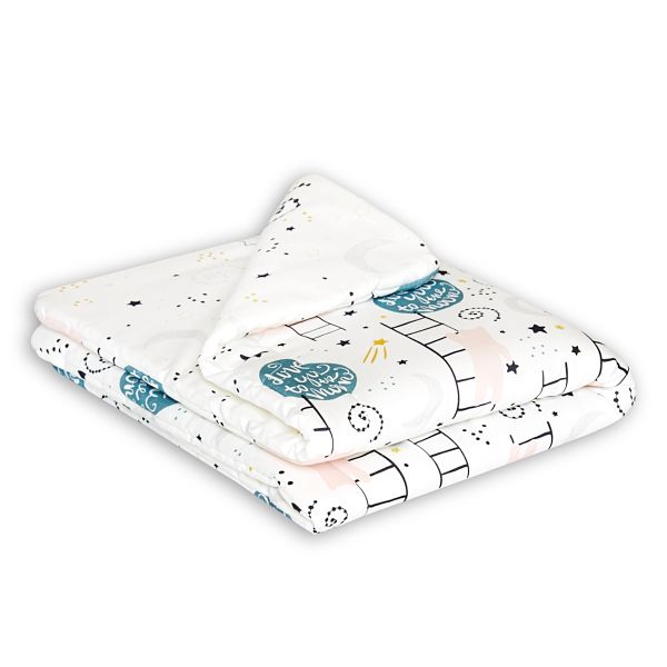 Baby Quilt S - Love to the Moon