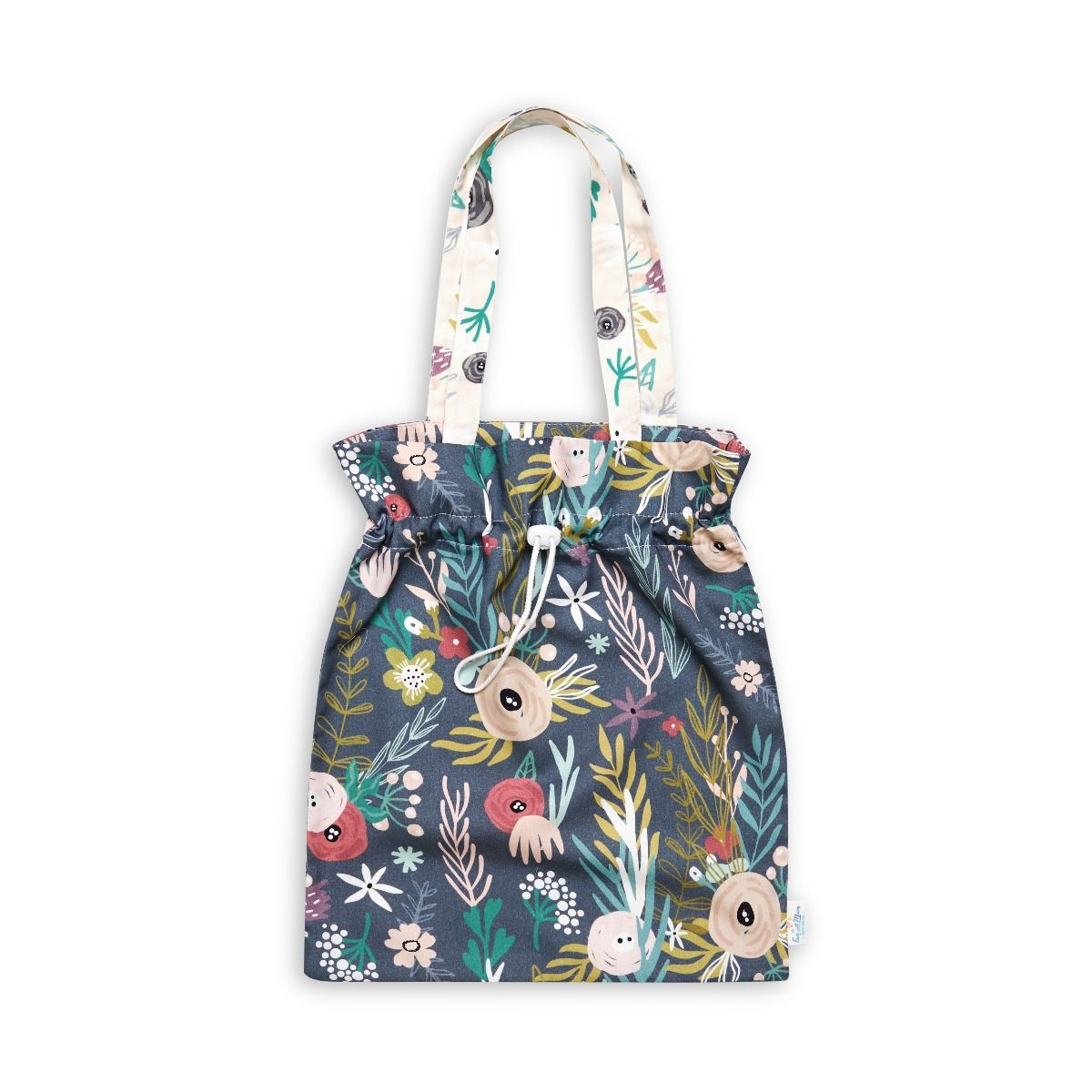Drawstring Bag - Floral Blooming