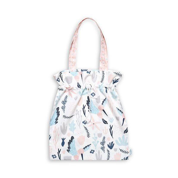 Drawstring Bag - Colibri Flower
