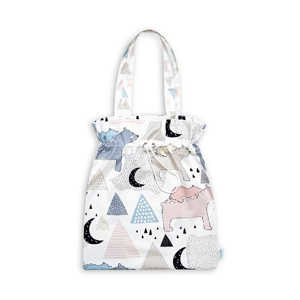 Drawstring Bag - Bear Family