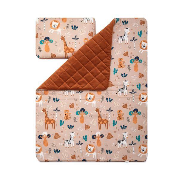 Toddler Blanket Set M - Safari