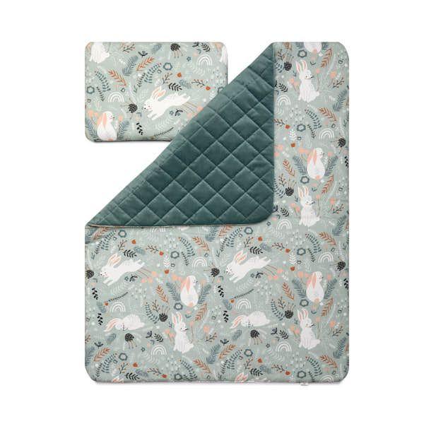 Baby Blanket Set S - Rabbit