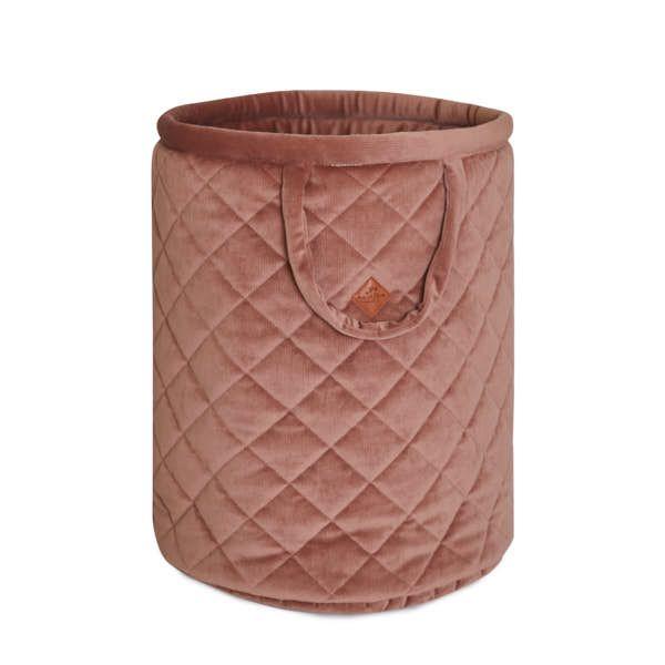 Basket for Toys - Velvet - Brown Mocca