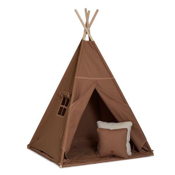 Teepee Tent + Floor Mat + Pillows - Carmel