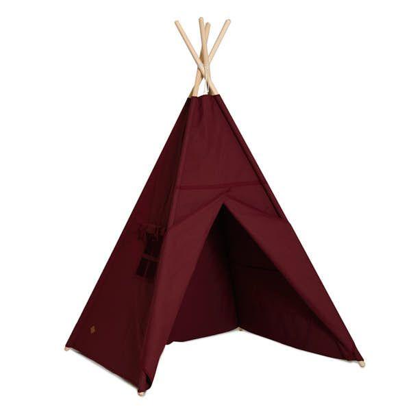 Teepee Tent - Maroon