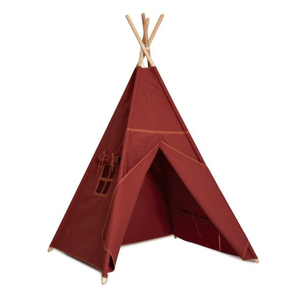 Teepee Tent - Brick Orange