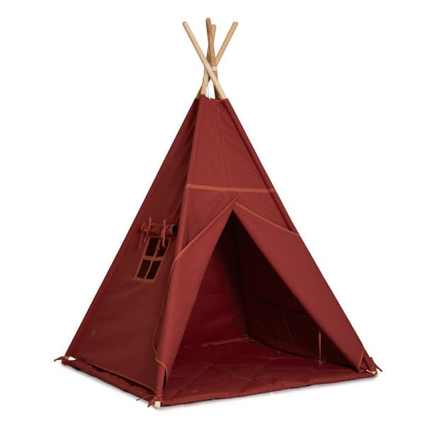 Tente Tipi + Tapis - Brick Orange
