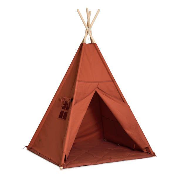 Teepee Tent + Floor Mat - Ginger