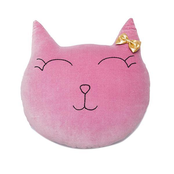 Poduszka Kot - Lilac