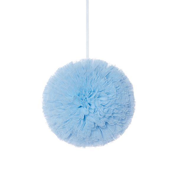 Pompon 10 cm - Blue