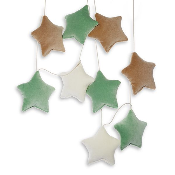 Girlanda - Velvet Forest Stars