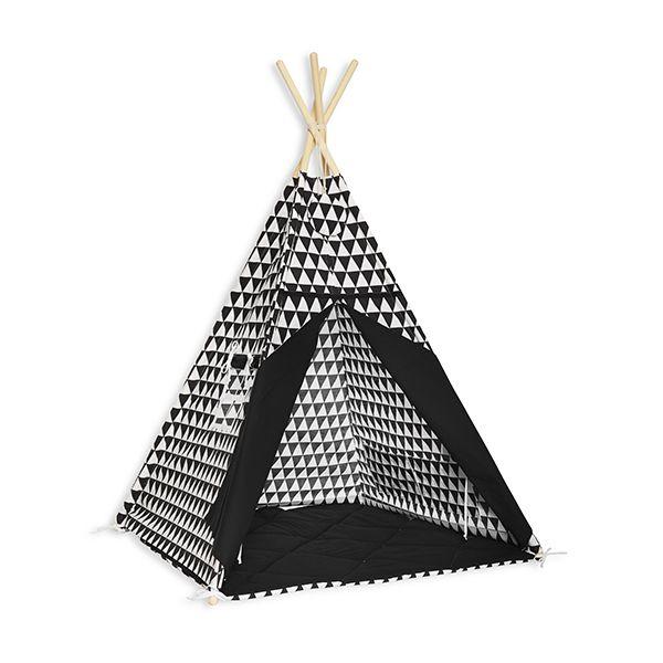 Namiot Tipi + Mata - Black&White
