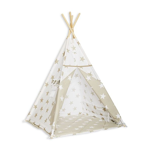 Tipi Zelt Bright Beige | Fun with Mum