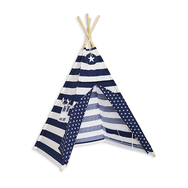 Namiot Tipi - Navy Stripes
