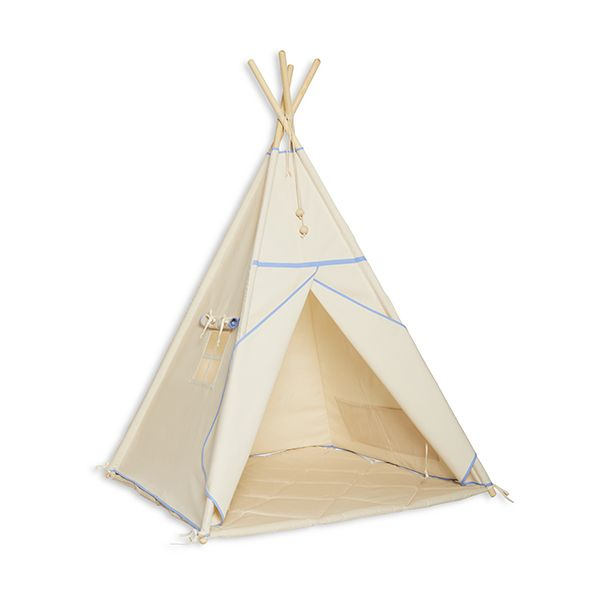 Namiot Tipi + Mata - Natural Blue