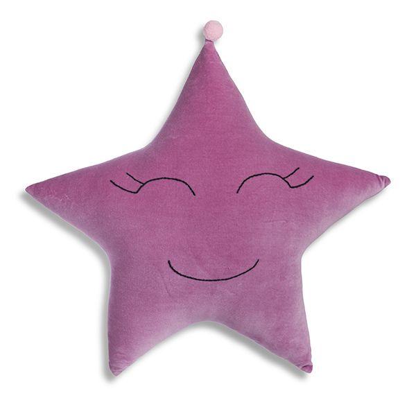 Poduszka Gwiazdka - Lilac