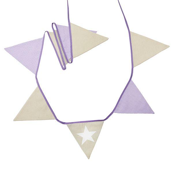 Girlanda - Natural Lilac