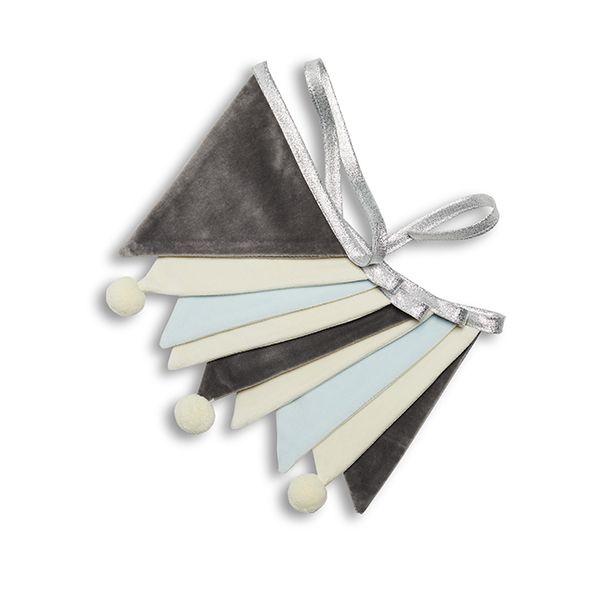Girlanda - Velvet Misty Silver