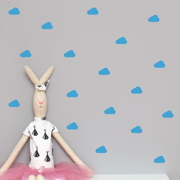 Naklejki - Clouds Blue