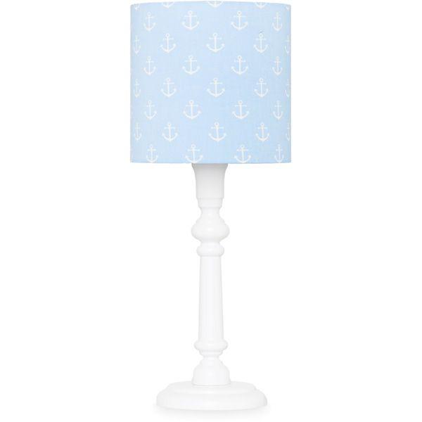 Lampka nocna - White + Blue Anchors