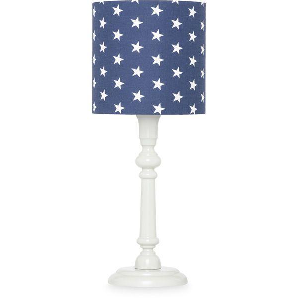 Lampka nocna - Grey + Navy Stars