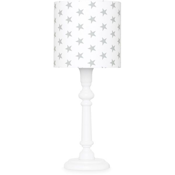 Lampka nocna - White + Grey Stars