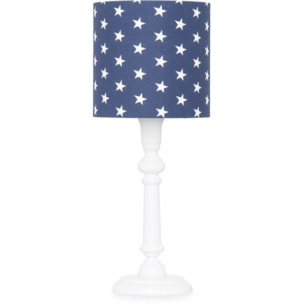 Lampka nocna - White + Navy Stars