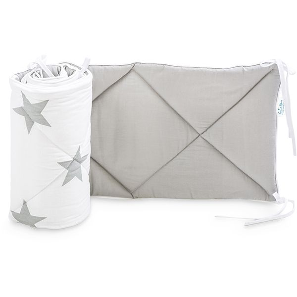 Ochraniacz do łóżeczka 70x140 - Bright Grey