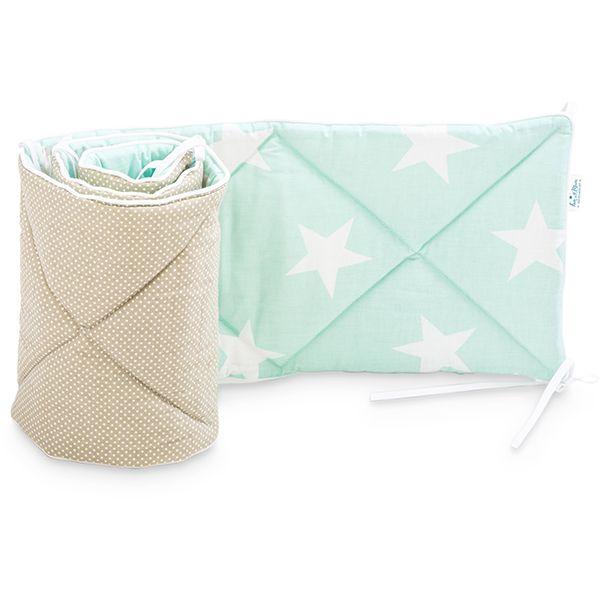 Baby Bed Bumper 70x140 - Sky Beige