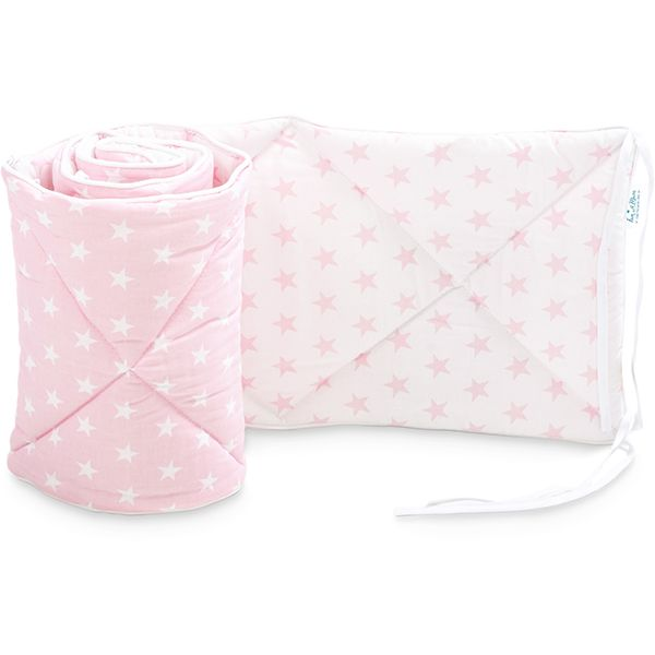 Baby Bed Bumper 70x140 - Pretty Pink