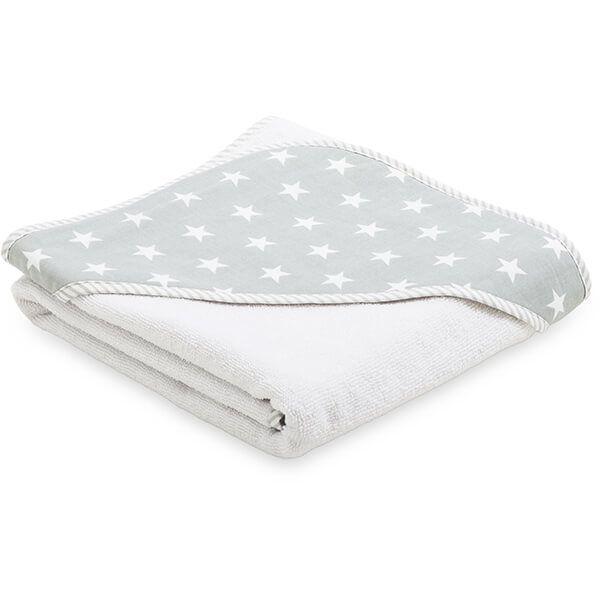 Ręcznik Niemowlaka - Grey Little Star
