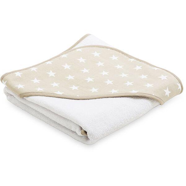 Ręcznik Niemowlaka - Beige Little Star