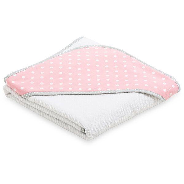 Ręcznik Niemowlaka - Pink Dots