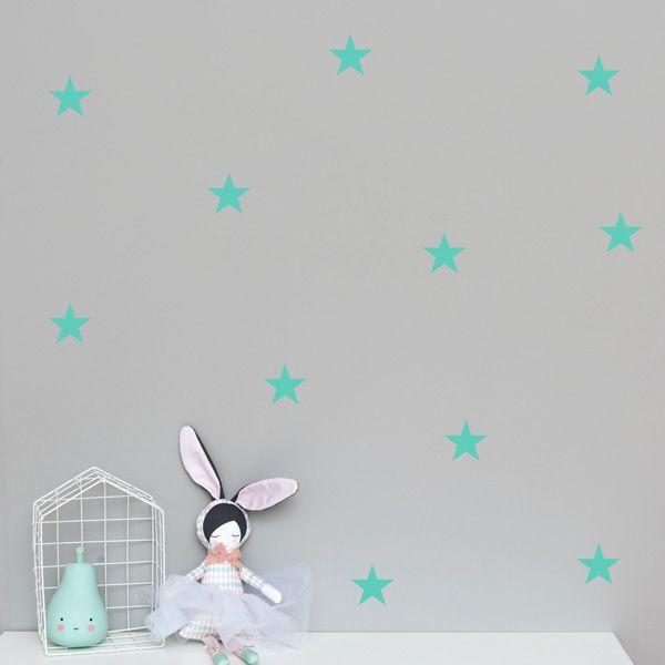 Naklejki - Stars Mint