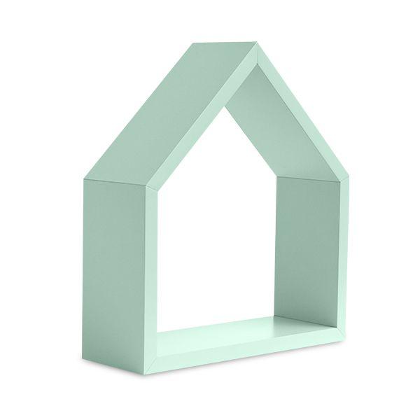 Półka Domek - Mint Small
