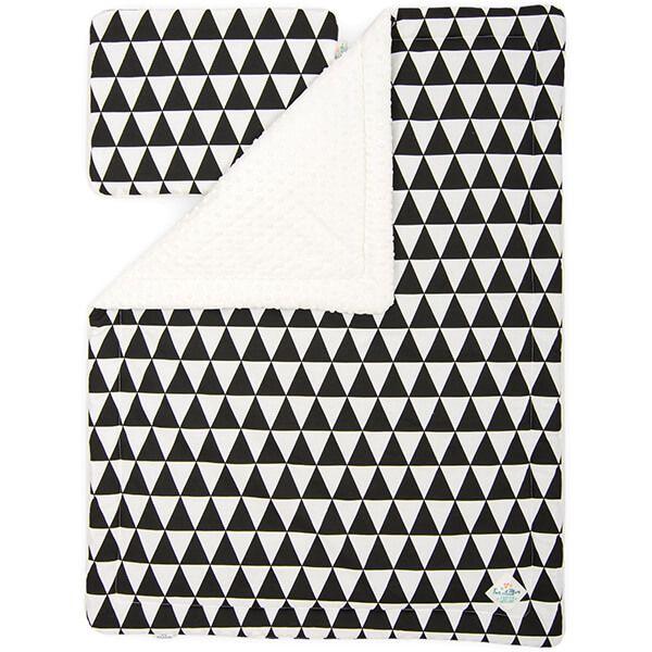 Kocyk + Poduszka Starszaka - Black&White