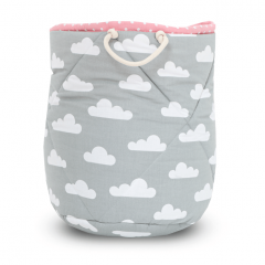Basket for Toys - Cloudy Rose