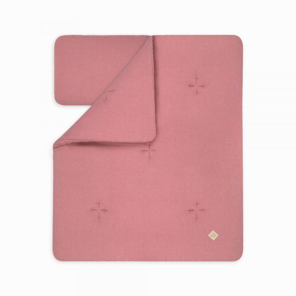 Kołderka + Poduszka Niemowlaka - Pink