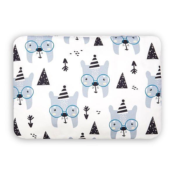Toddler Bed Pillow M - Bear Face