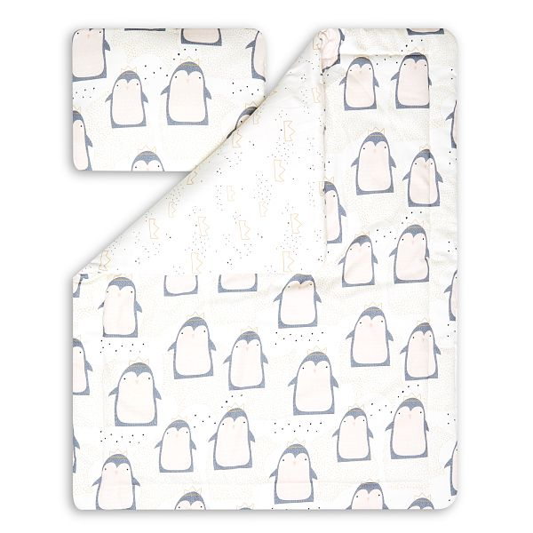Junior Bedding Set L - Lovely Pinguin