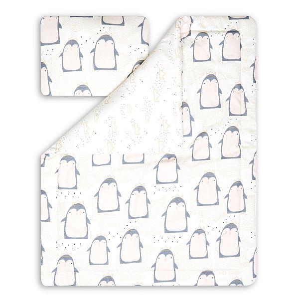 Toddler Bedding Set M - Lovely Pinguin
