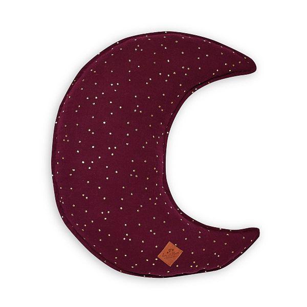 Mond Kissen - Burgundy